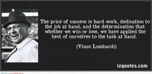 Hard Work Dedication Determination Quotes