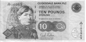 Below : Mary Slessor Honoured By A Scottish Bank ... ..