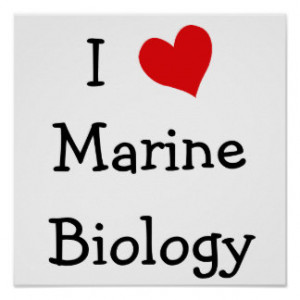 Love Marine Biology Print