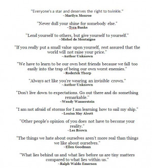 Great Quotes For Middle School