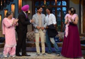 Sidhu Shayari for Arjun Rampal and Irfaan Khan with Comedy Nights with ...