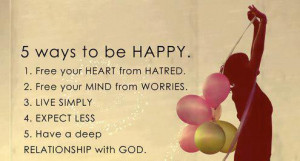 ways to be happy :)Follow best love quotes and sayings for more!We ...