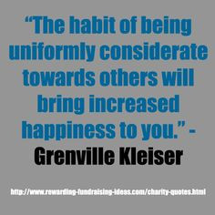 ... Grenville Kleiser #Charity #Quote For more great Fundraising quotes