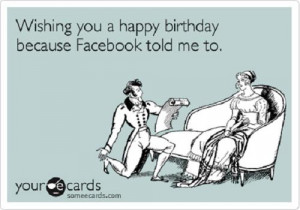 Worst Types Of Facebook Birthday Messages