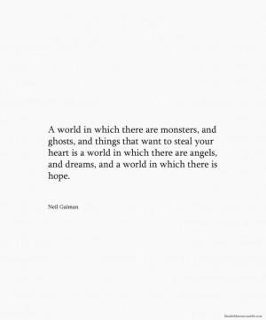 Neil Gaiman quote -