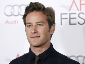 Actor Armie Hammer poses for photographers after the Young Hollywood