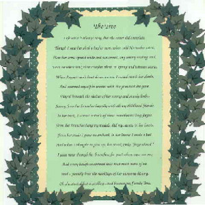 Family Tree Poem