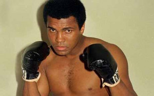 As Muhammad Ali, the former world heavyweight champion, visits the UK ...