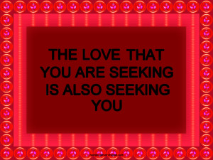 LOVE The RED VERSION photo quote-love-seeking-red--pop-art-frame ...