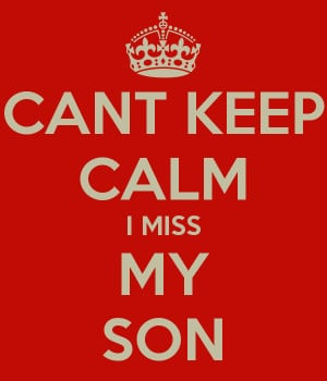 Funnies pictures about I Miss U Son