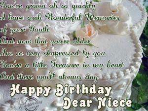 Happy Birthday Great Niece