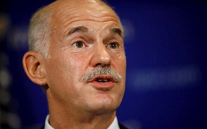 George Papandreou, Greece's prime minister. Photo: Bloomberg
