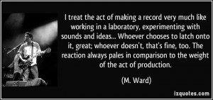 More M. Ward Quotes
