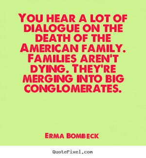 ... the death of the american family families aren t dying they re merging