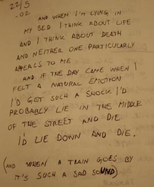 lyrics the smiths lyrics