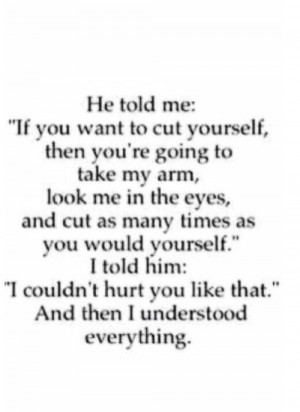 Dont Cut Yourself Quotes Quotesgram