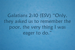 "James 2:5 (ESV) ""Listen, my beloved brothers, has not God chosen ..."