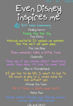 Disney Quotes for the Whole Family