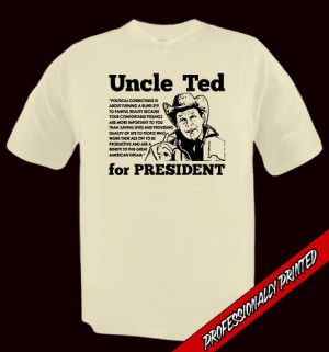 Details about UNCLE TED FOR PREZ nugent PRO freedom gun TEE any size