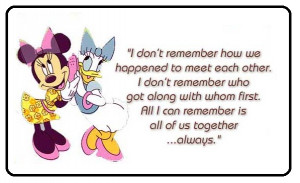 Friend Quotes Greeting Card of Friendship Day