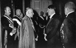 Pío XII con Adolf Hitler