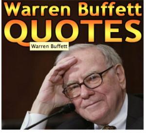 20 quotes from warren buffett just from listening to warren buffett ...