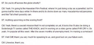 Martinez revealed his involvement with the new Far Cry in an interview ...