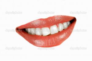 Smiling woman mouth | Stock Photo © Pavle Marjanovic #2452565