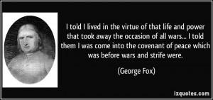 More George Fox Quotes