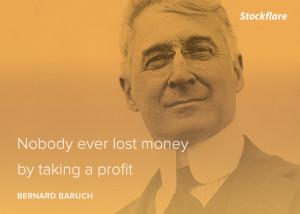 Quotes: A Baruchian Profit