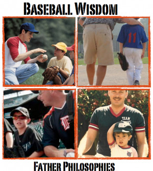 Father Son Baseball Quotes The role of a father,