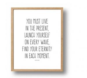 THOREAU Quote Print, Motivational Quotes, Inspirational Poster ...