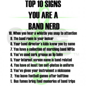 band_nerd_top_10_signs_white_tshirt.jpg?color=White&height=460&width ...