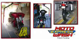 Moto Express Wash - Touch Free Motorcycle Wash