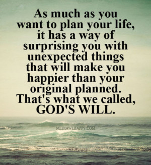 Image Result For Life Quotes Unexpected Things