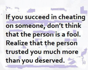 Quotes / Cheating can be more than physical - it can be emotional, it ...