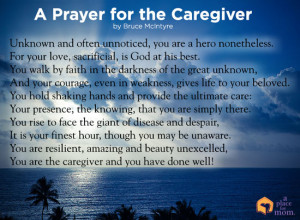 Poem: A Prayer for the Caregiver