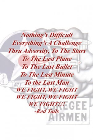 Red Tails We Fight Chant by Biothief