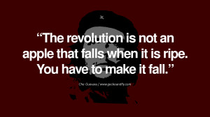 ... to make it fall. - Che Guevara Quotes by Fidel Castro and Che Guevara