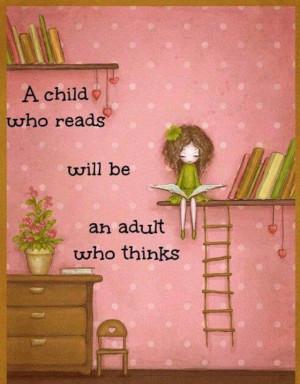 Encourage reading.