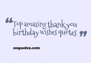 Thank you so much for the kind birthday wishes. You helped make it a ...