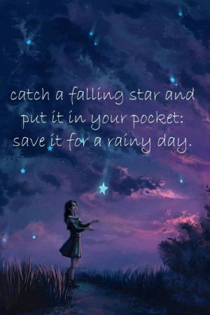 Catch a falling star ...: Digital Paintings, Shoots Stars, Dreams ...