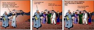 Bible Cartoon Abraham and Lot