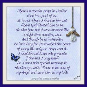 Special Angel in heaven