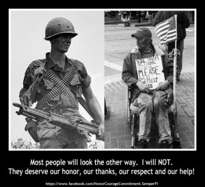 Homeless Veterans -- Why do these two words even go together?!?
