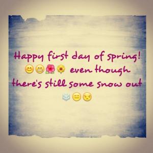 Happy spring :)