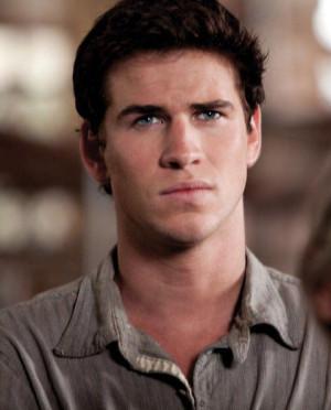 Gale is hurt when he sees Katniss kiss Peeta.
