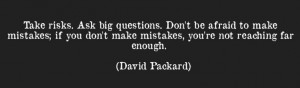 Here is one of our favourite quotes from David Packard- Co-Founder of ...