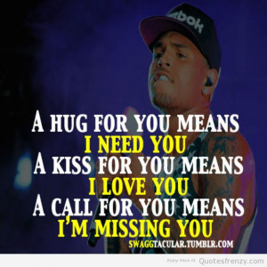 Chris Brown Quotes About Relationships