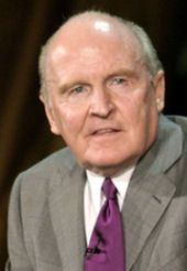 Jack Welch (ENTJ) CEO of General Electric and management guru More